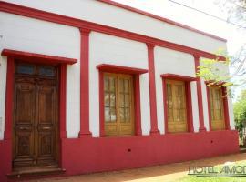 Hotel Amoite, Concepción de la Sierra