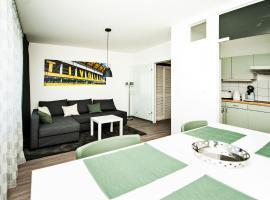 Apartment am Bahnhof, Ахен