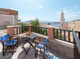Sea blue Apartments, Halki