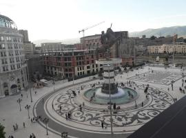 main square apartment, Skopje