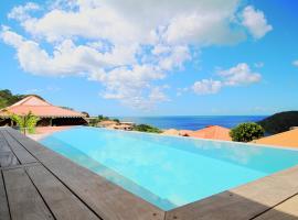 Villa infiniti swimming pool, Les Anses-d'Arlets