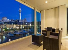 Quinovic Viaduct Luxurious Waterfront Two Bedroom Apartment, Auckland