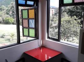 Small but cosy private apartment studio, Medellín