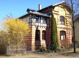 Ferienwohnung in Gründerzeitvilla