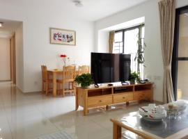 Pastoral Fresh Style Apartment Near Baiyun Airport, Huadu
