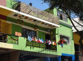 Casa del Mochilero, Lima