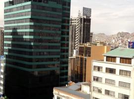 En Pleno Centro, La Paz