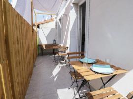Studio - Terrasse entre Gare et Vieux-Port, Marseille