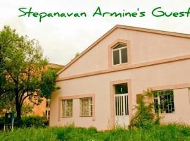 Armine's guesthouse, Step'anavan