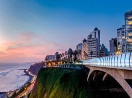 Oceanview Miraflores Apartment, Lima