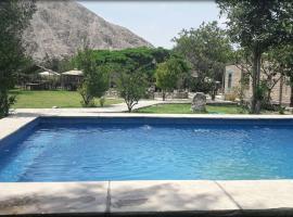Refugio de Santiago Ecolodge, Lunahuaná