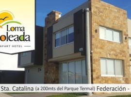 Loma Soleada Apart Hotel, Federación