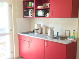 Klein aber fein - wunderschönes 1-Raum-Apartment mit Terrasse und Stellplatz