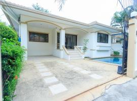 (e-2)Private Pool villa 3BR for 13PAX Free WIFI, Jomtien Beach