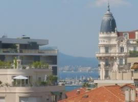 Grand Studio Terrasse 200m Cannes-Croisette, Cannes