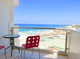 Beautiful apartment with sea view in Sharon hotel, Herzelia
