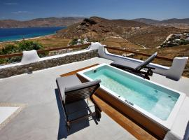 Fulfill Your Holiday Dreams At Panormo Beach, Miasto Mykonos