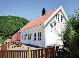 Three-Bedroom Holiday Home in Lindesnes, Svenevik
