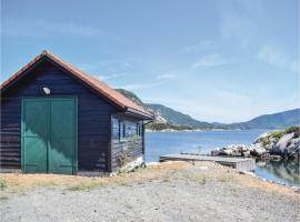 Four-Bedroom Holiday Home in Hervik, Hervik