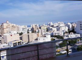 Résidence Dababi Sousse vue sur la mer, Sousse