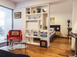 Adorable flat in lovely Barranco next to oceanview, Lima