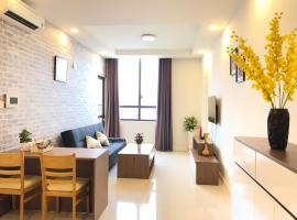 A Lovely River View Apartment at Icon 56 # 1BR, Cidade de Ho Chi Minh