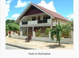 Villa in de wijk Cupido, Paramaribo