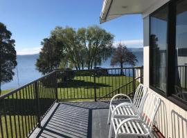 Beautiful Lakefront Retreat, Rotorua
