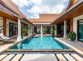 Champagne Pool Villa, Равай