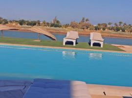 Villa with private pool and jacuzzi in El Gouna, Hurghada