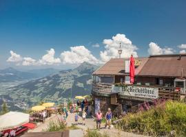 Hocheckhuette On Top of the Kitzbuehel Hahnenkamm Mountain, Kitzbühel