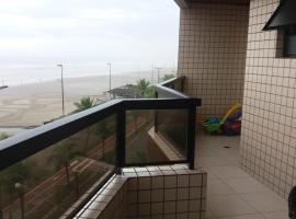 lindo apartamento de frente ao mar, Solemar