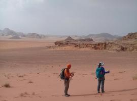 The Martian Camp, Wadi Rum
