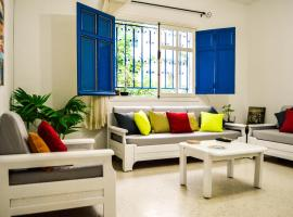 Cosy S2 Apartment @ Sidi Bou Said-Carthage Amilcar, Dar Salah Bey