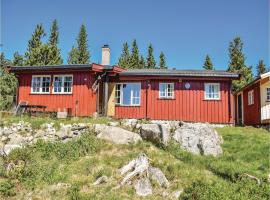 Three-Bedroom Holiday Home in Sjusjoen, Sjusjøen