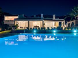 Villa Valasia, Miasto Kos
