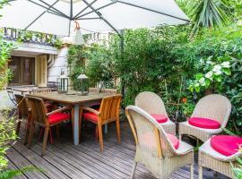 3P en rez de jardin d'un maison bourgeoise, Cannes