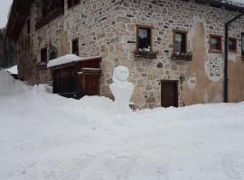 Rustico nelle Dolomiti, Zoldo Alto