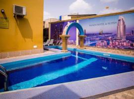 Banex Hotel vom, Lagos