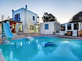 White and blue Villa, 德里奥斯