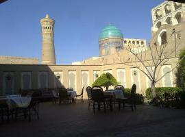 Hotel Zargaron, Bukhara