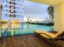 [Center Saigon]Goose Apt CITY VIEW FREE Pool &Gym, Ho Chi Minh City
