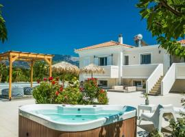 Agia Pelagia Villa Sleeps 6 Pool Air Con WiFi, Svoronáta