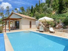 Vasiliki Villa Sleeps 2 Pool Air Con WiFi, 瓦西利基