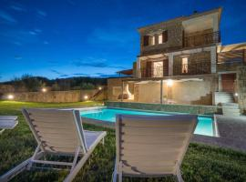 Vasilikos Villa Sleeps 6 Pool Air Con WiFi, 瓦西里科斯