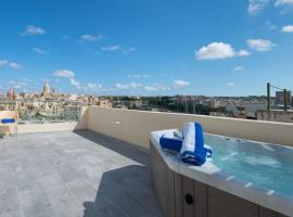 Three Cities Boutique Suites with Jacuzzi, Senglea
