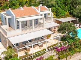 Pyrgi Villa Sleeps 8 Pool Air Con WiFi, Pyrgi