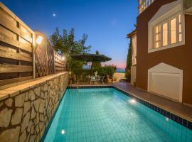 Sfakaki Villa Sleeps 6 Pool Air Con WiFi, Sfakaki