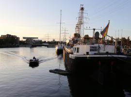 Schiffshotel Schlafen im Hafen