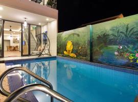 private 4 bedrooms pool beach villas-vaca house, Hoi An